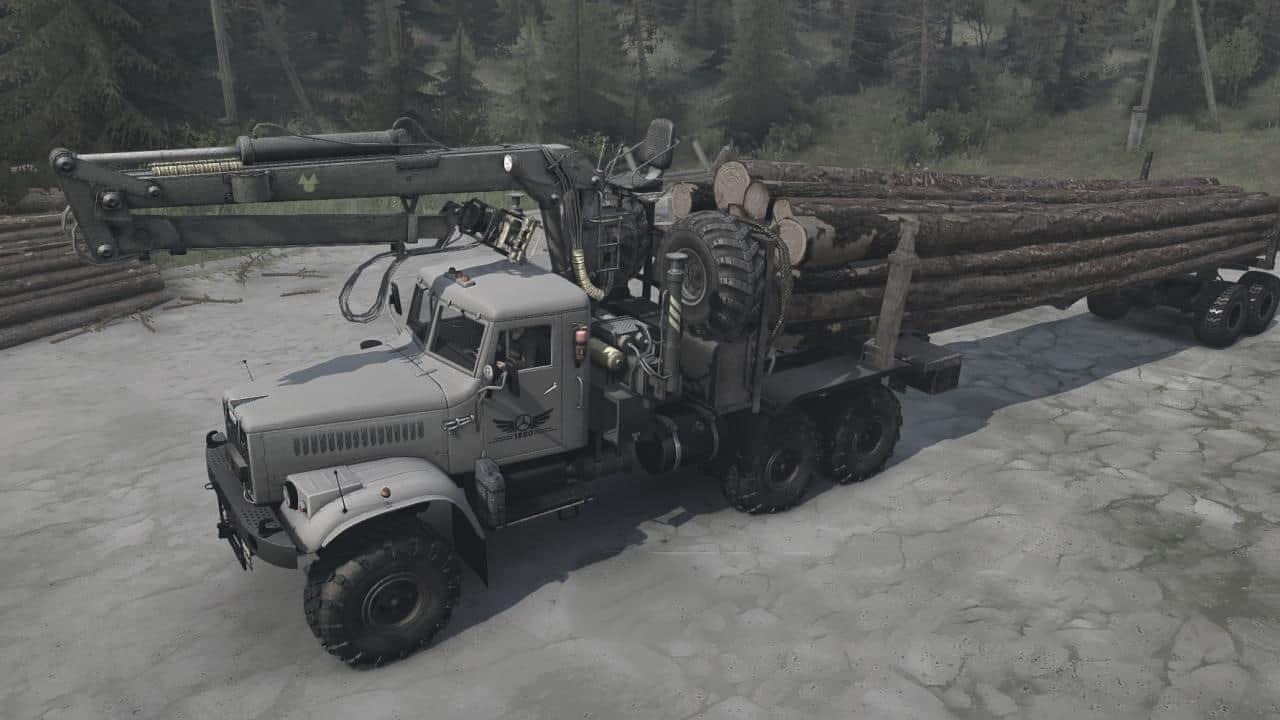 Spintires:Mudrunner - KrAZ-255B Truck V07.10.19