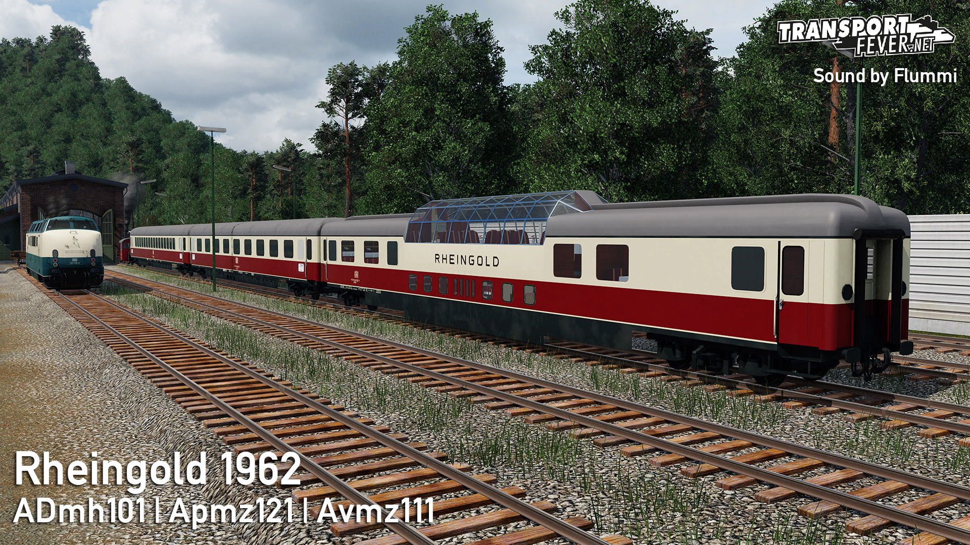 Transport Fever 2 - Rheingold 1965