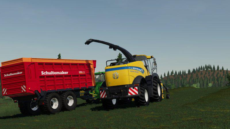 FS19 - New Holland FR 780 (Manual Pipe) V1.0