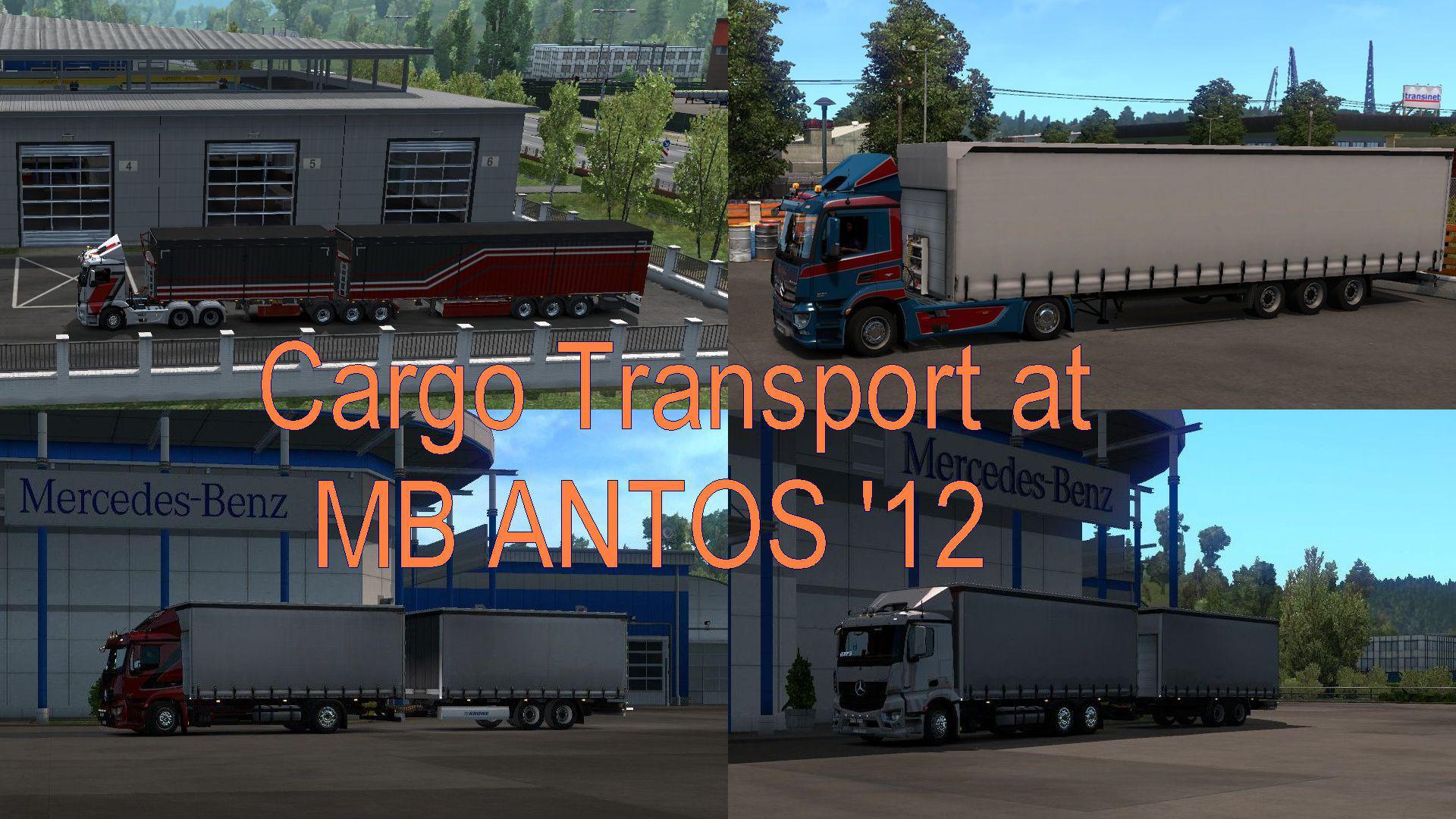 ETS2 - D3S Mercedes Antos r1.35.1.150