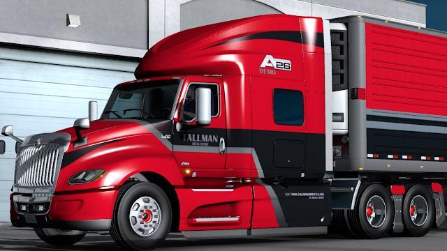 ATS -  International LT625 Truck V1.6 (1.37.x)