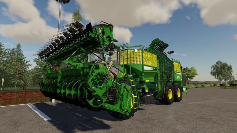 FS19 - Holmer HR12 - Multifruit / Multicolor - GFL Edition V1.0