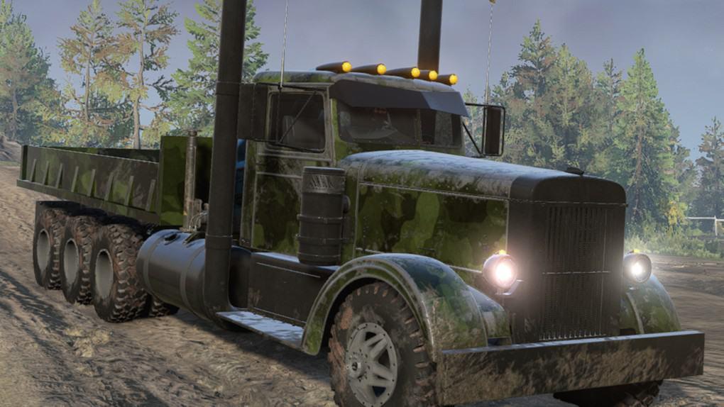 SnowRunner - Frogs 1954 Transporter Truck V1.0