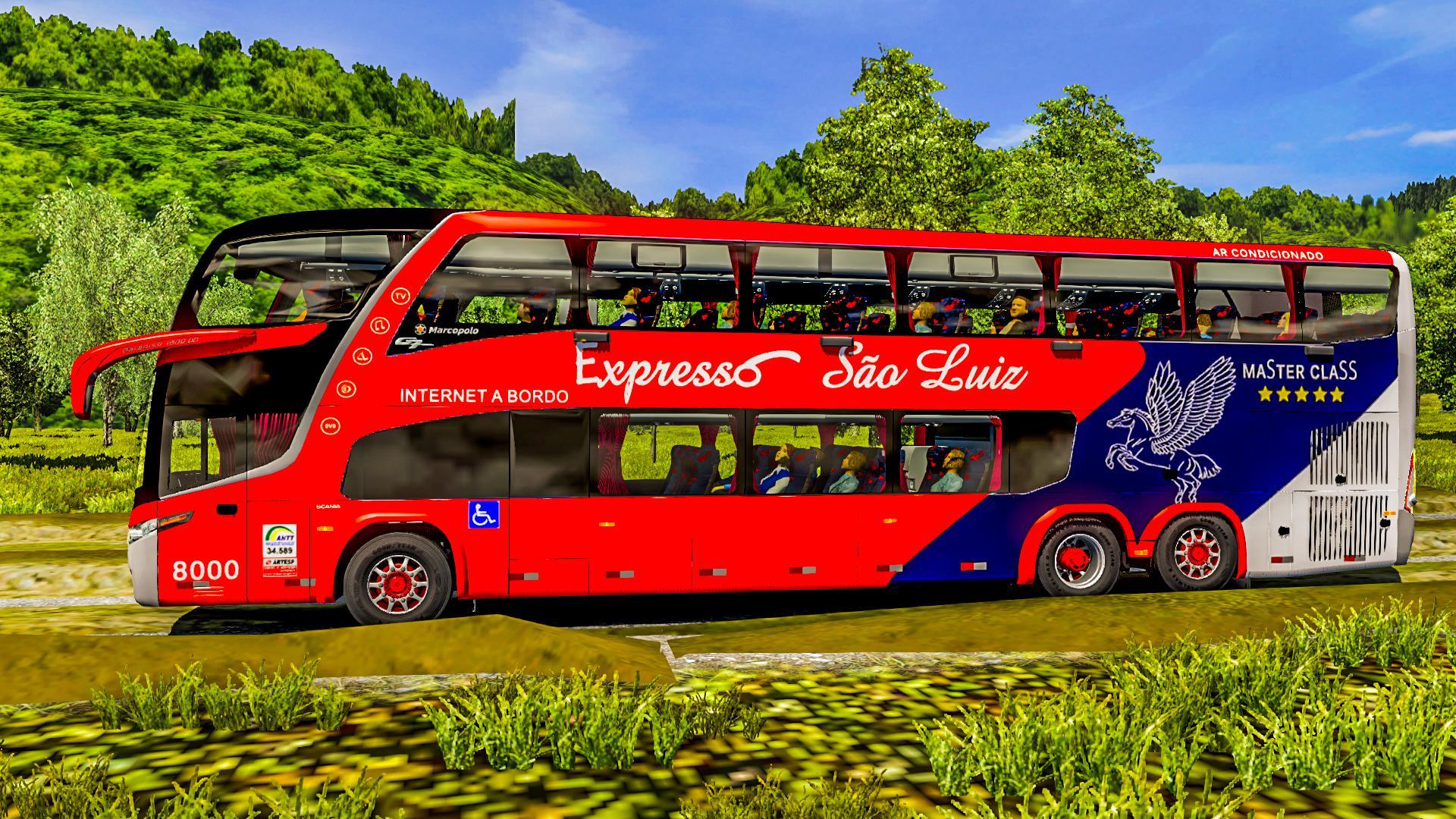 ETS2 - Marcopolo G7 1800 DD 6X2/6x4 – Scania Bus (1.38.x)