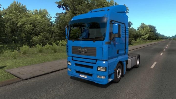 ETS2 - Man TGA Truck V1.6 (1.40.x)