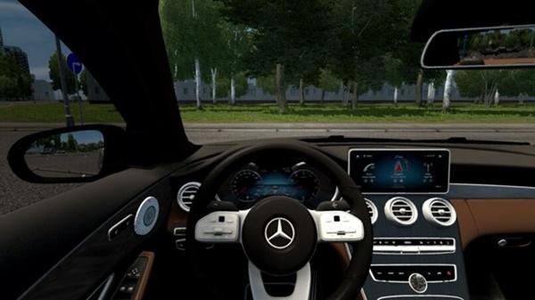 City Car Driving 1.5.9 - Mercedes-Benz W205 C300