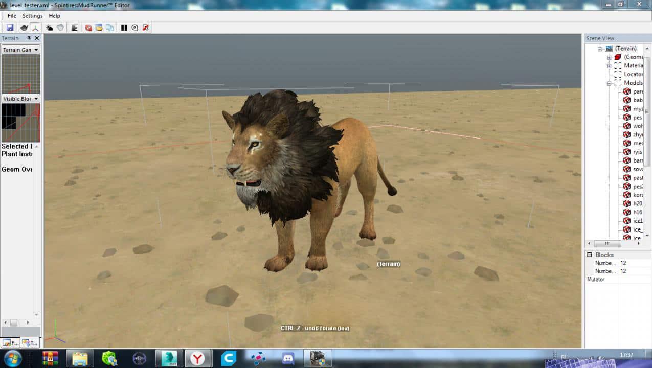 Spintires:Mudrunner - Animals for The Editor V1.6