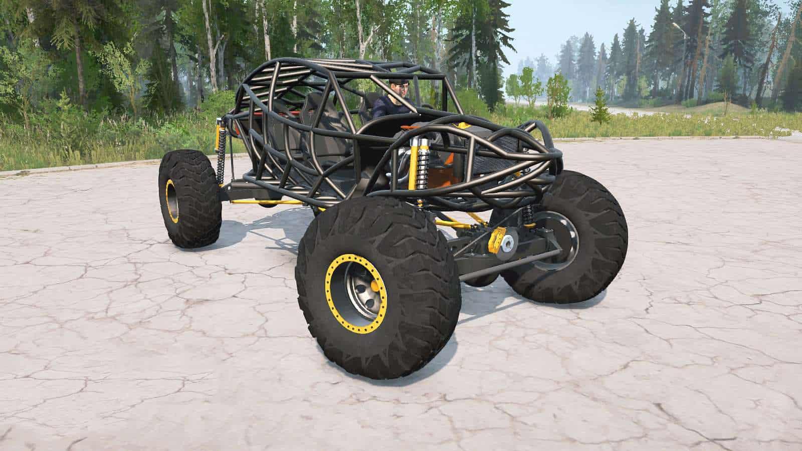 Spintires:Mudrunner - Rock Crawler Mod