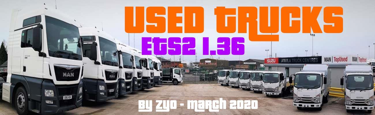 ETS2 - Used Trucks V20.03.20 (1.36.x)