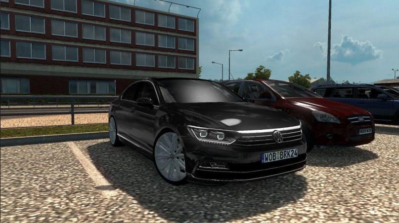 ETS2 - Volkswagen Passat B8 (1.40.x)
