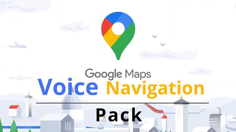 ETS2 - Google Maps Voice Navigation Pack V1 (1.37.x)