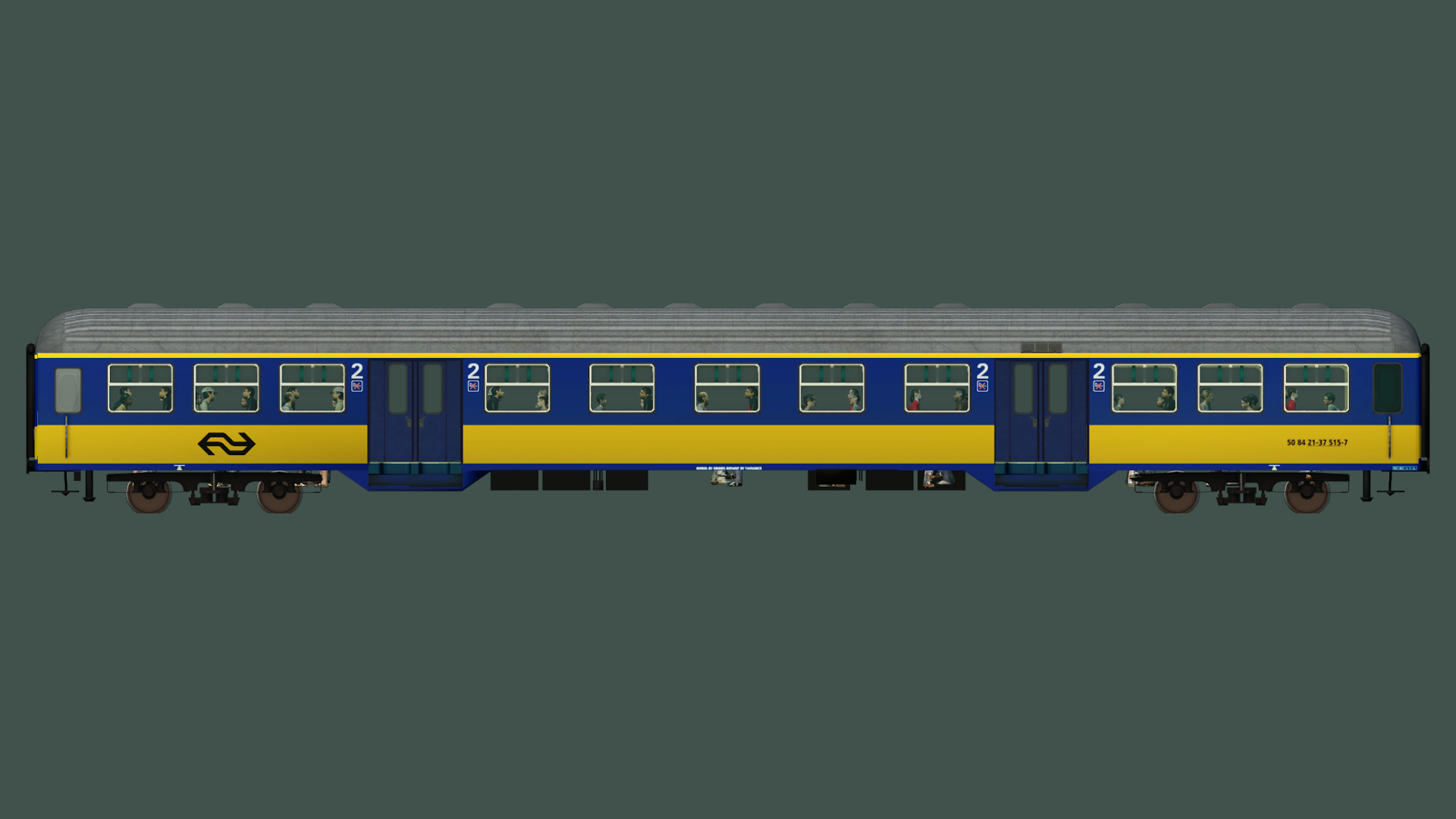 Transport Fever 2 - NS PLan W (6 Versions)