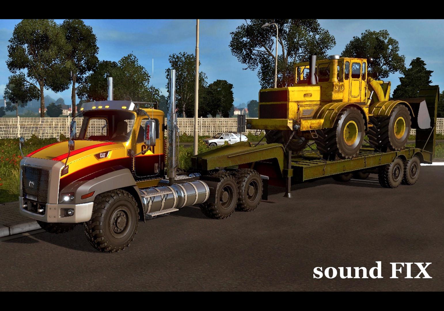 ATS - Caterpillar CT660 Sound Fix Mod (1.38.x)