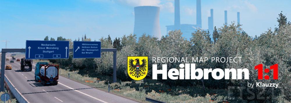 ETS2 - RMP: Heilbronn 1:1 v1.0.8 (1.35.X)