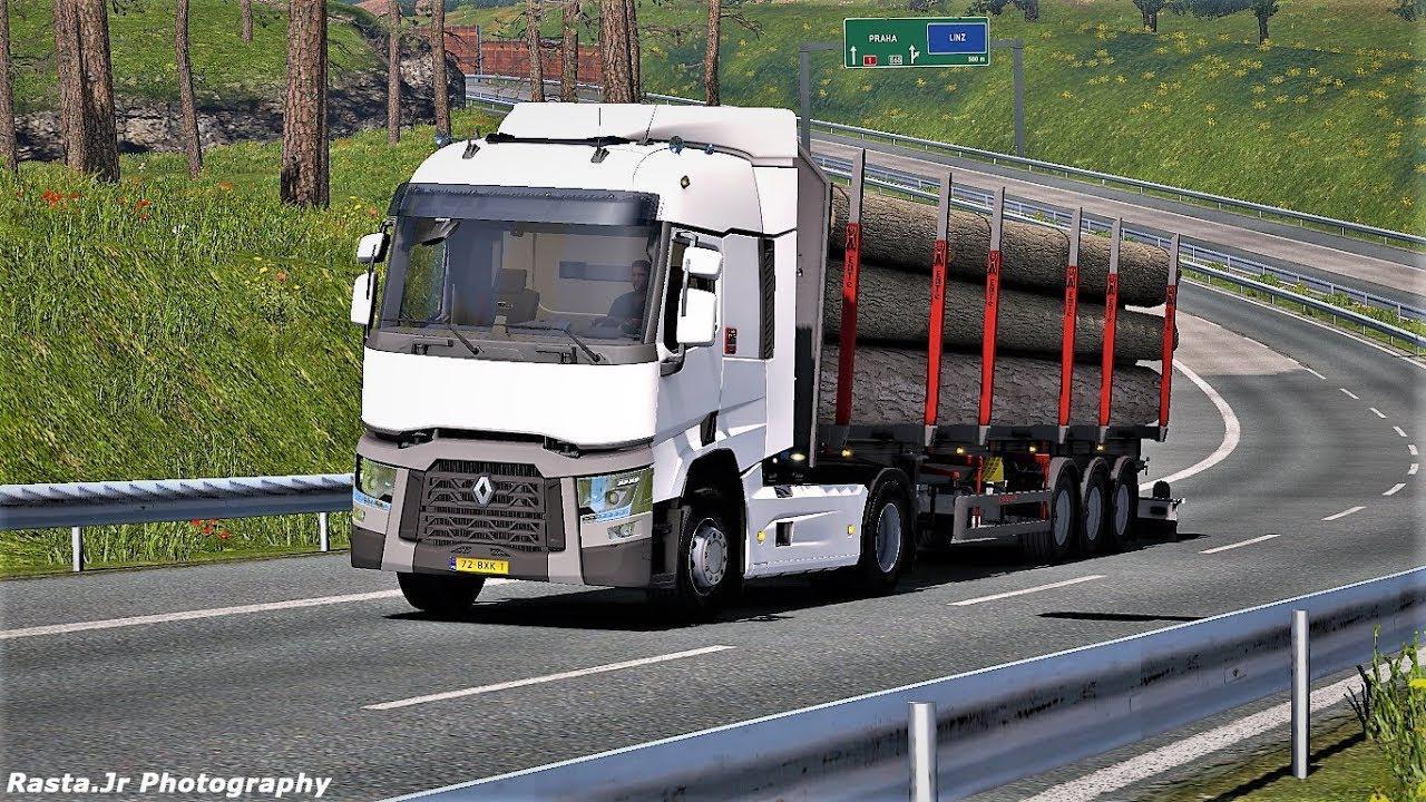 ETS2 - Renault Range T Improved Sound V1.0 (1.35.X)