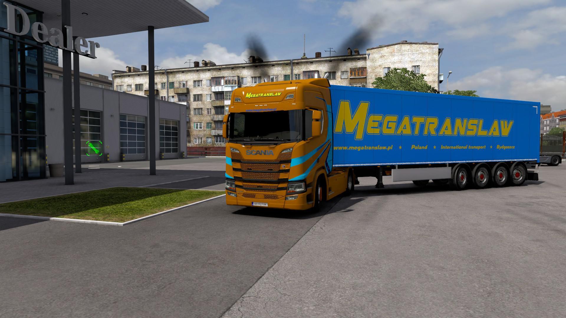 ETS2 - Megatranslaw Combo Skin V1.0 (1.39.x)