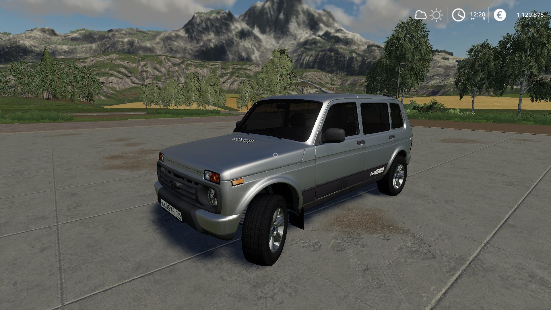 FS19 - Niva Urban Car Mod V1.1