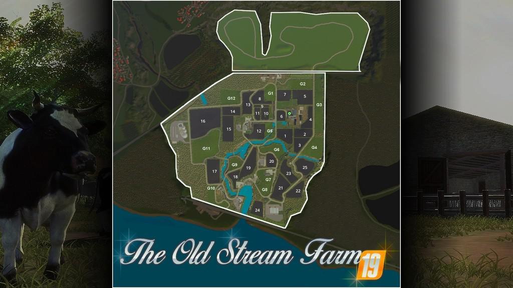 FS19 - The Old Stream Farm Map V1.2
