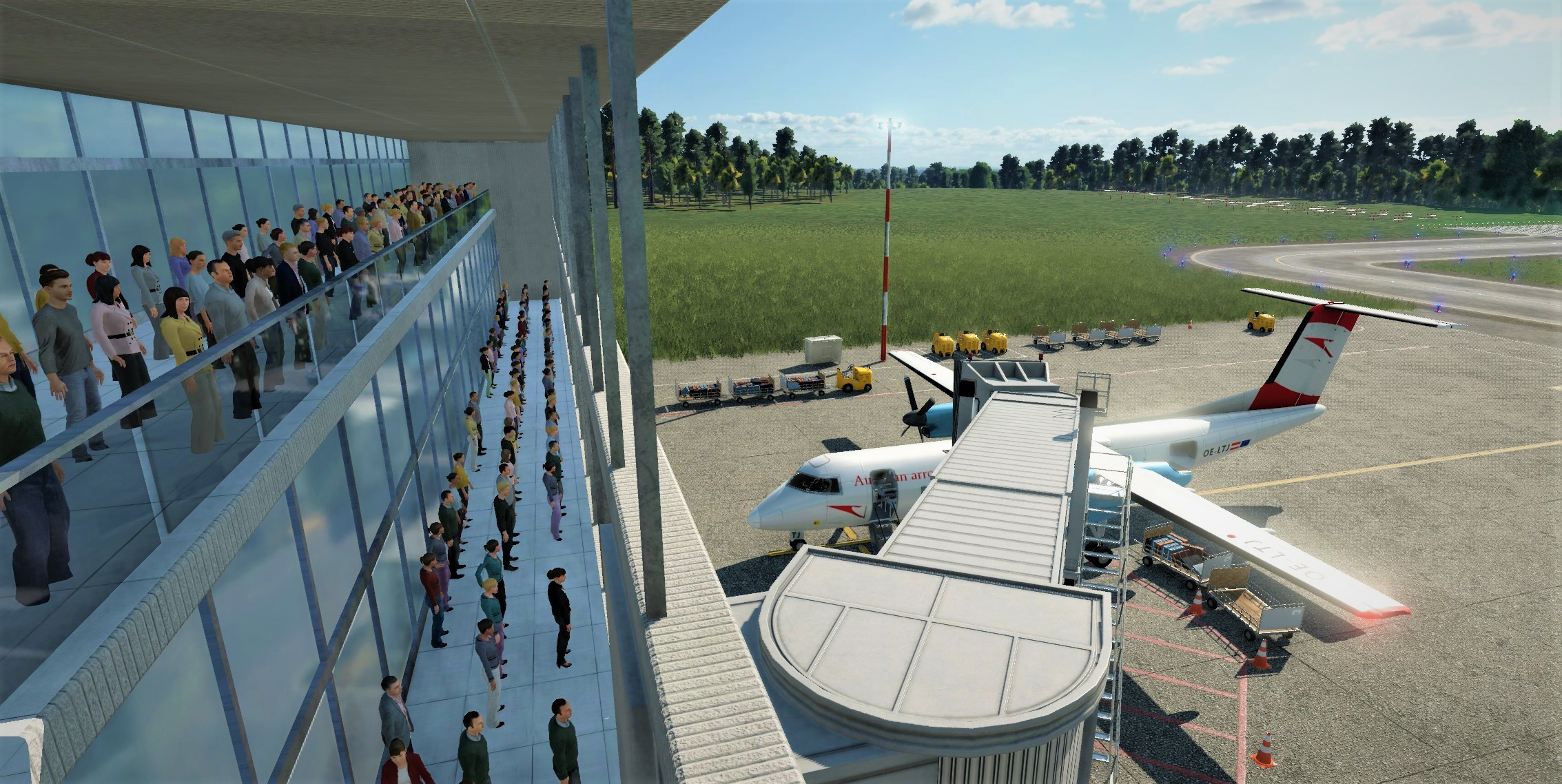 Transport Fever 2 - High Capacity PAX Airport Terminal