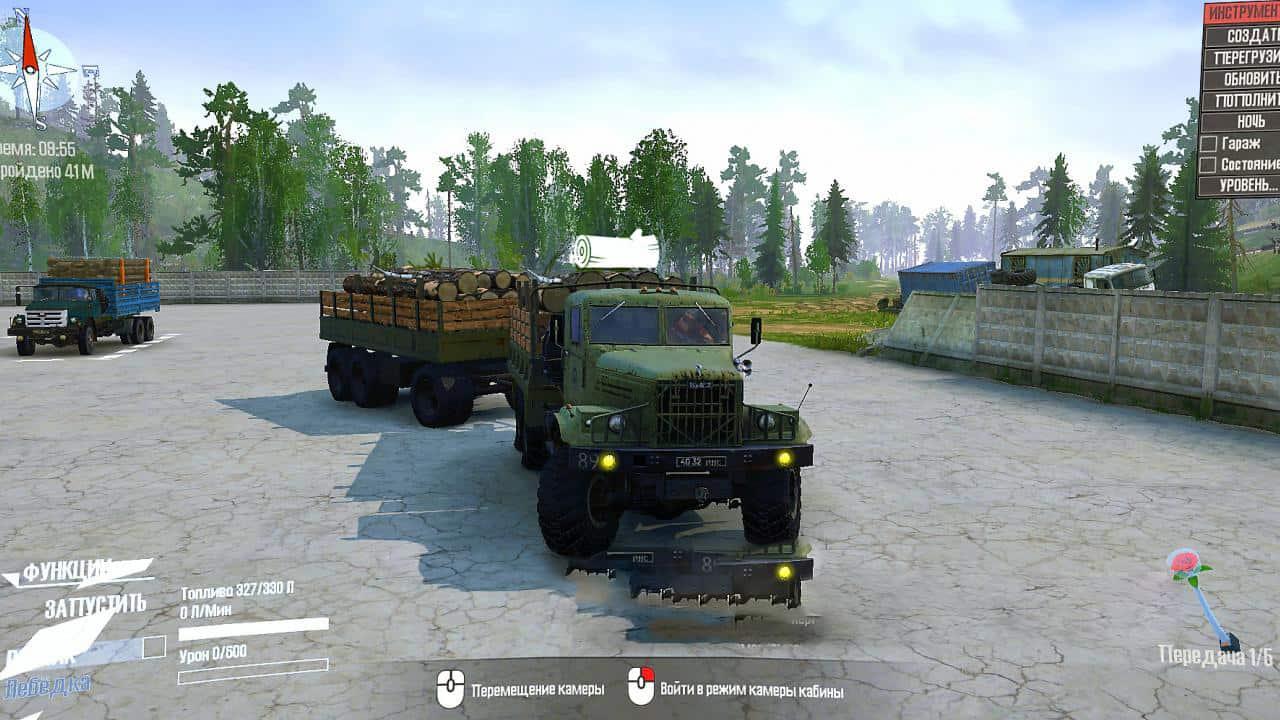SnowRunner - Kraz-255B Truck V1.0