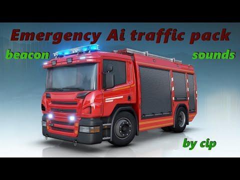 ETS2 - Real Emergency Traffic Pack V1.0 (1.36.X)