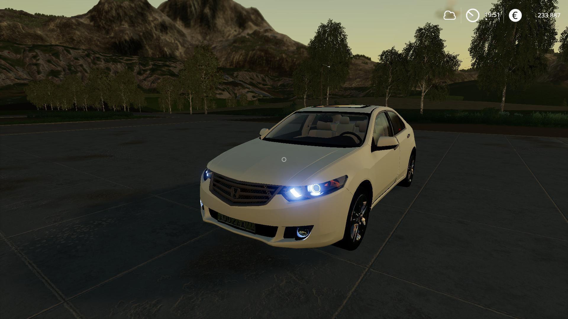 FS19 -  Honda Accord 2009 V1.0