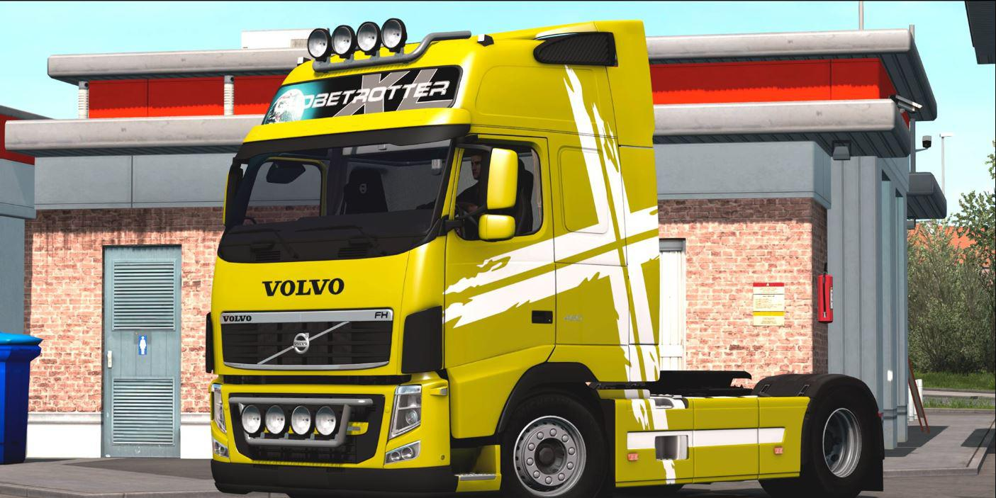 ETS2 - Volvo Fh 460 Truck (1.38.x)