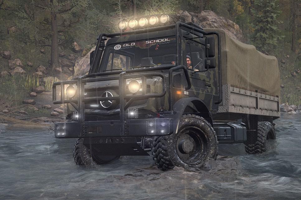 SnowRunner - Mercedes Unimog U4023 V2.0