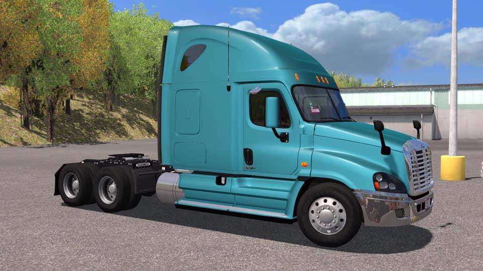 ATS - Freightliner Cascadia 2015 Truck (1.36.x)