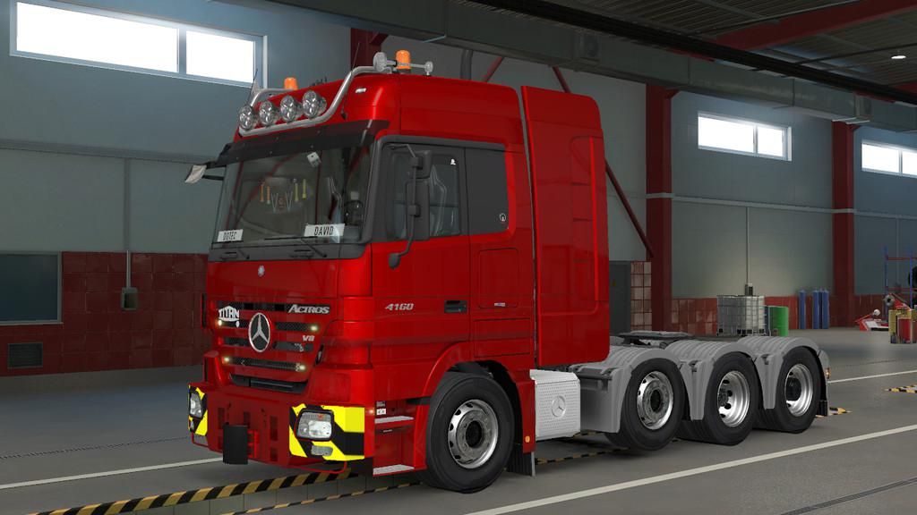 ETS2 - Mercedes-Benz Actros MP2 Truck V1.2 (1.39.x)