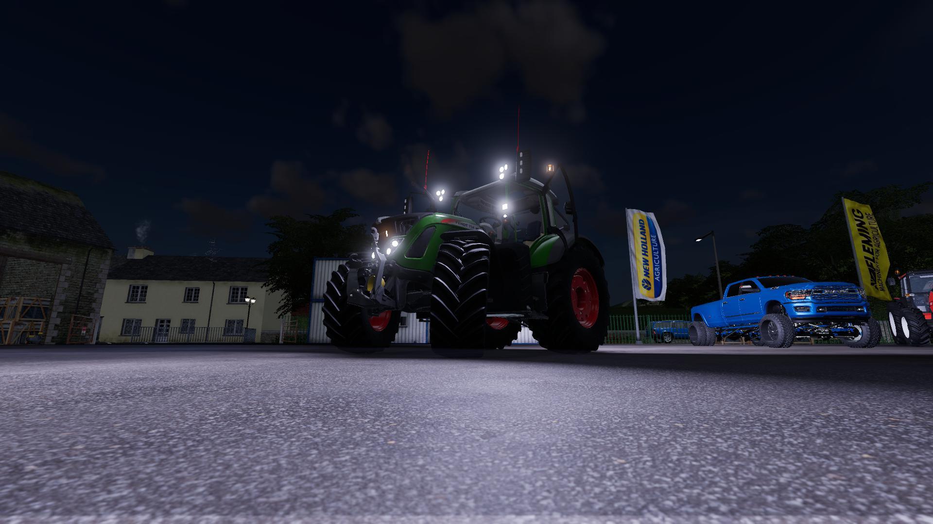 FS19 - Fendt Vario 700 Tractor V1.0.1.0