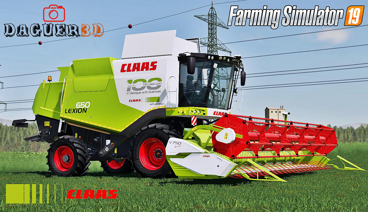 FS19 - Claas Lexion 600 Series (Old Generation) V2.0