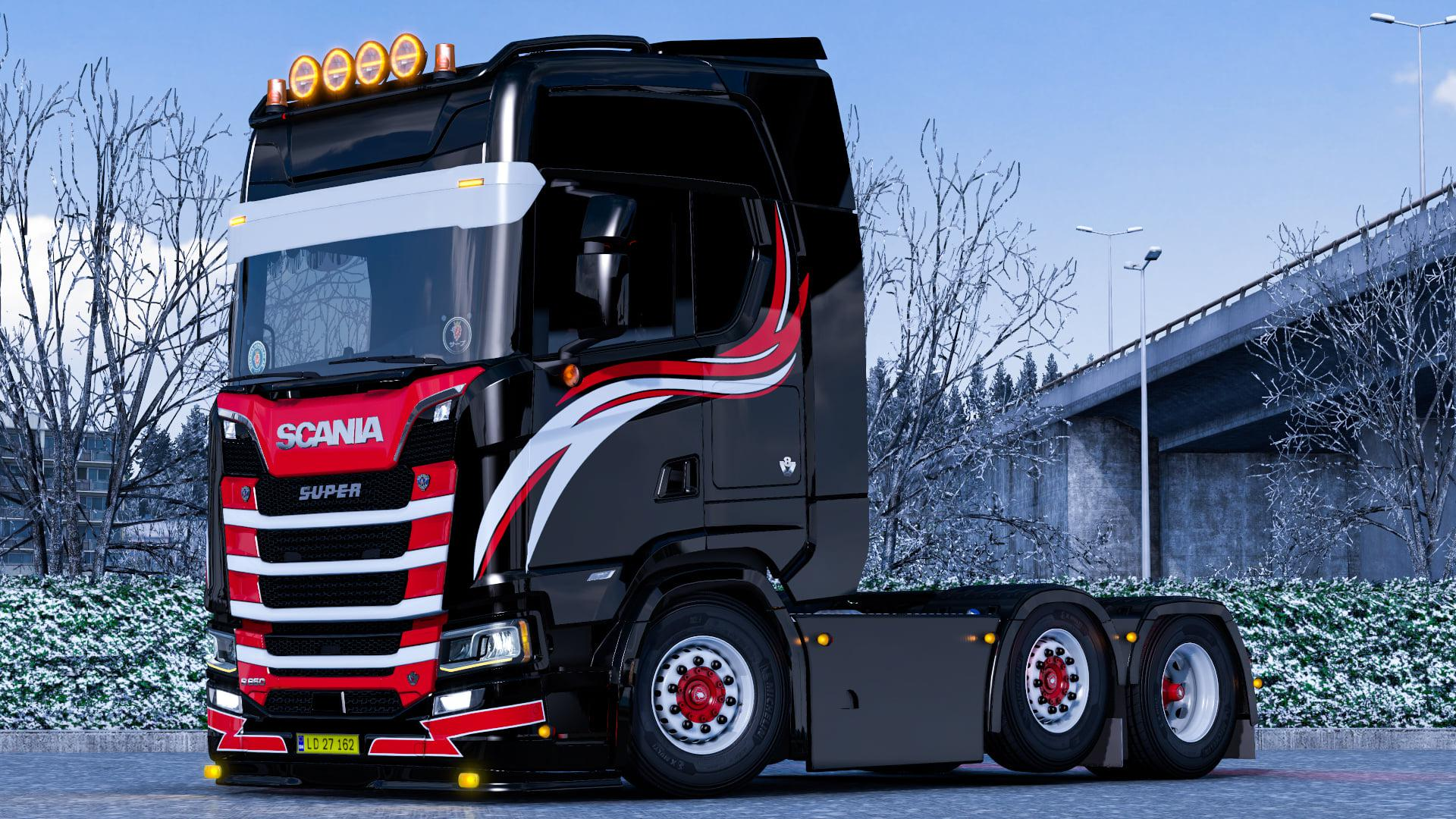 ETS2 - WF Truckstyling Skin for Scania S V1.0 (1.39.x)