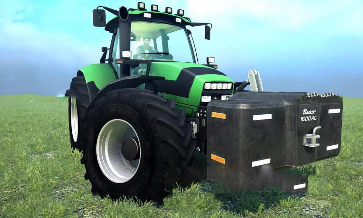 Spintires:Mudrunner - Deutz-Fahr Agrotron M620 Tractor V1.0