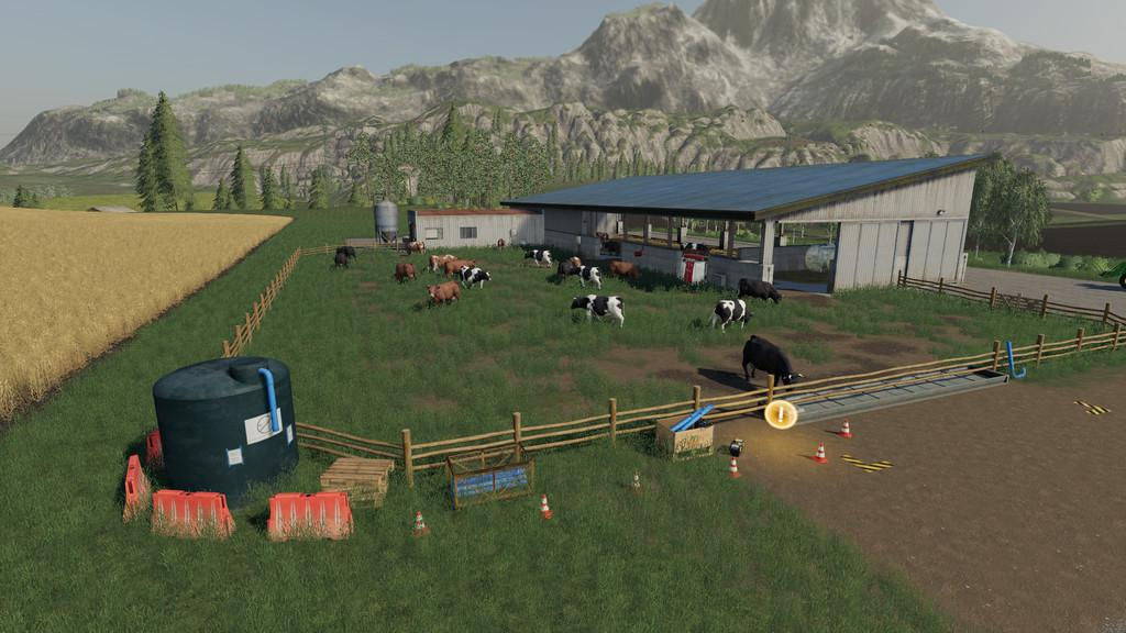 FS19 - Cow Stable V1.0