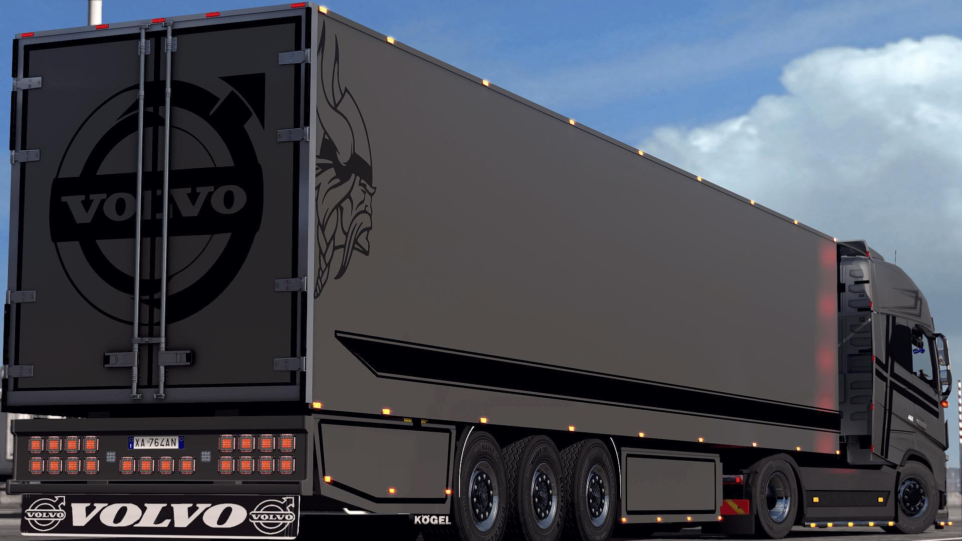 ETS2 - Volvo Lady Diana Truck (1.35.X)
