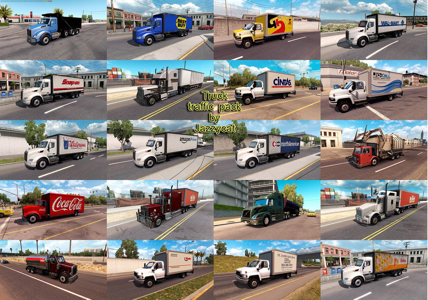Classic Cars AI Traffic Pack v3.4 by Jazzycat (1.35.x) for