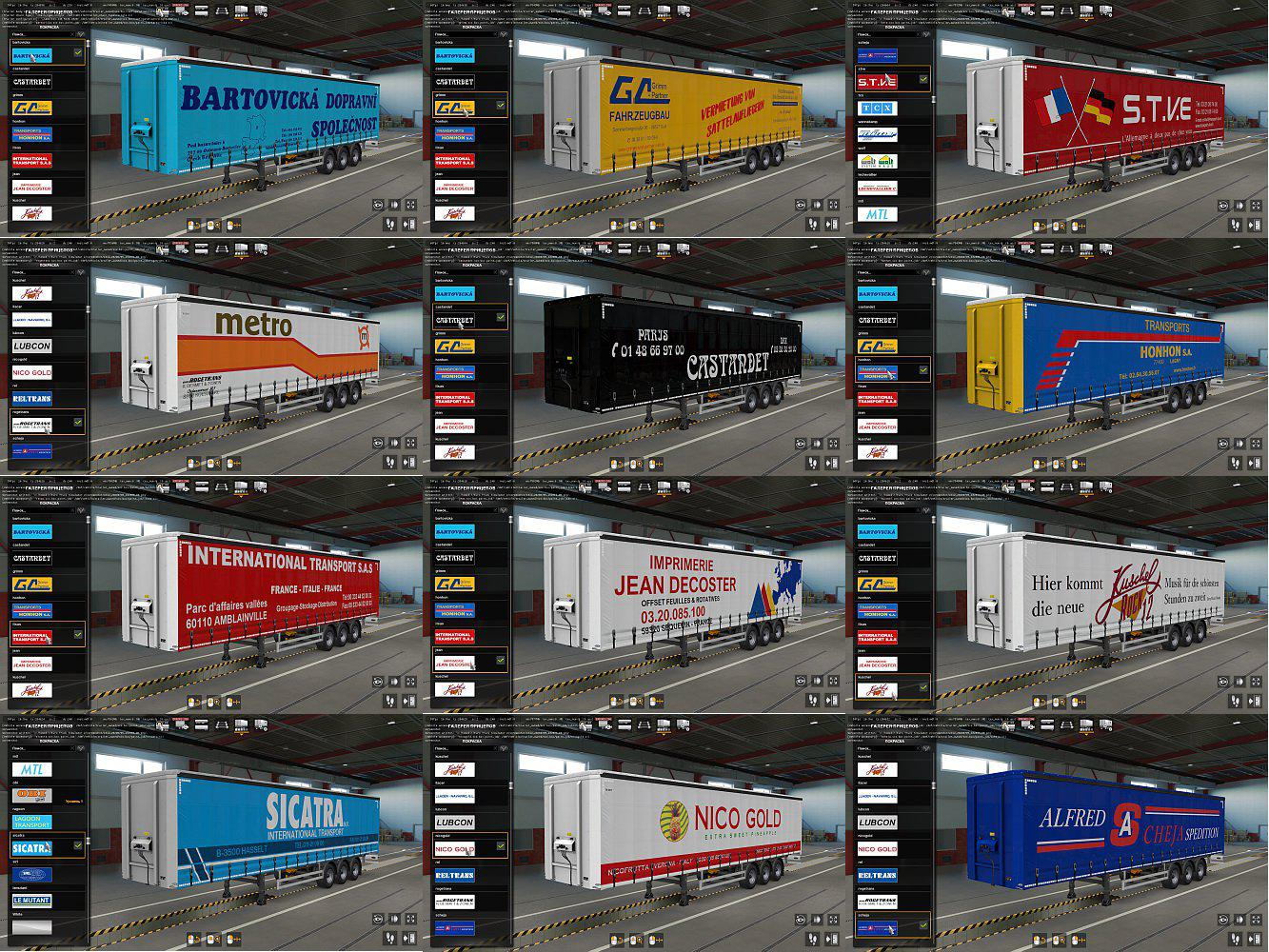 ETS2 - Skins for Owned Trailers (1.37.x)