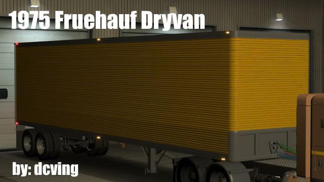 ATS - Fruehauf Dryvan 1975 Trailer (1.38.x)