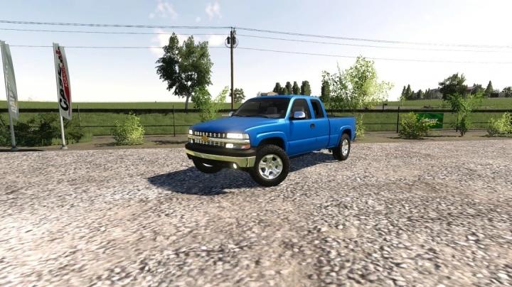 FS19 - 2002 Chevy Silverado Ext Cab V1.0