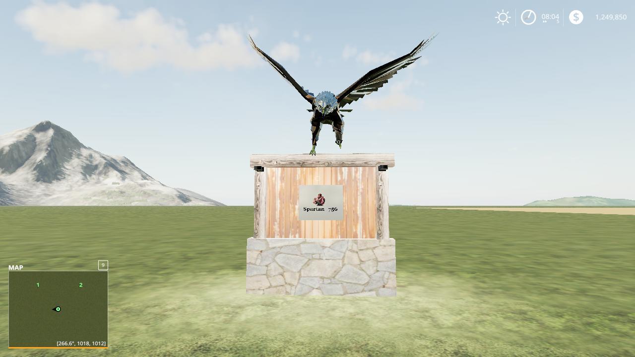 FS19 - Eagle Sign V1.0