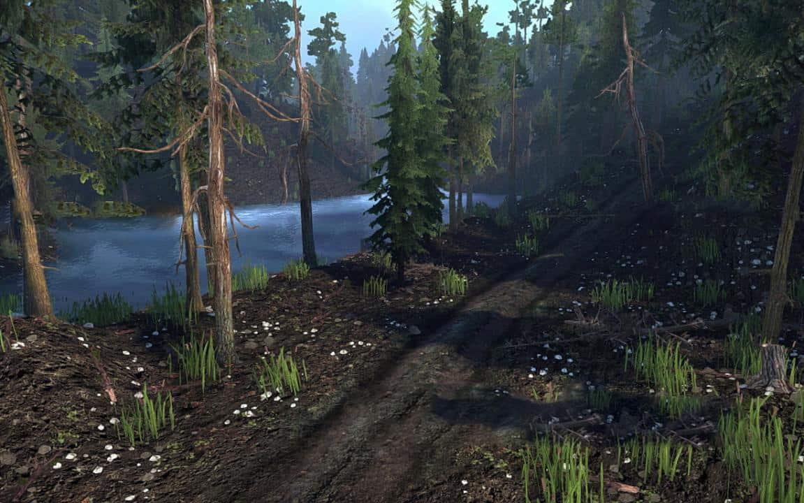 Spintires:Mudrunner - Chocolate Hills Map V1.0