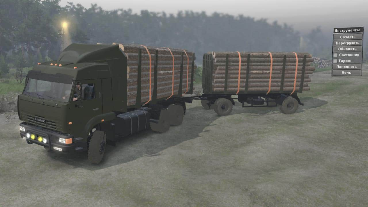 Spintires - KamAZ-65225 Truck V1.0