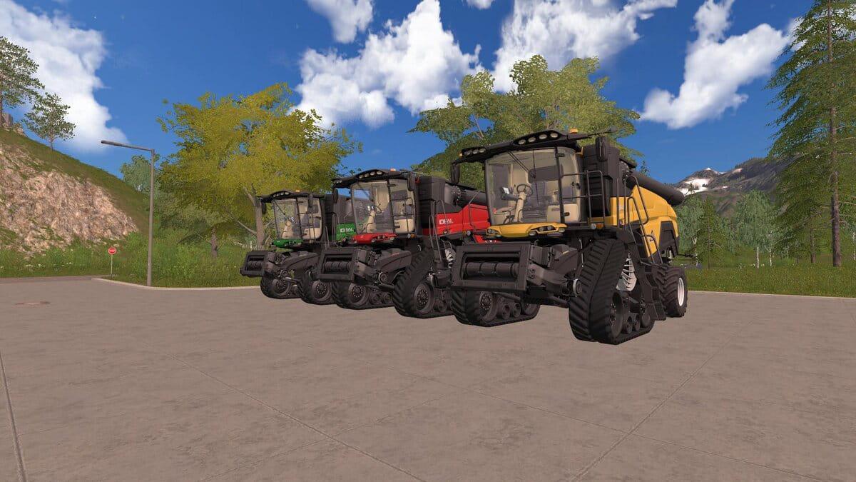 FS19 - Agco Ideal 9 Harvester V1.2.1