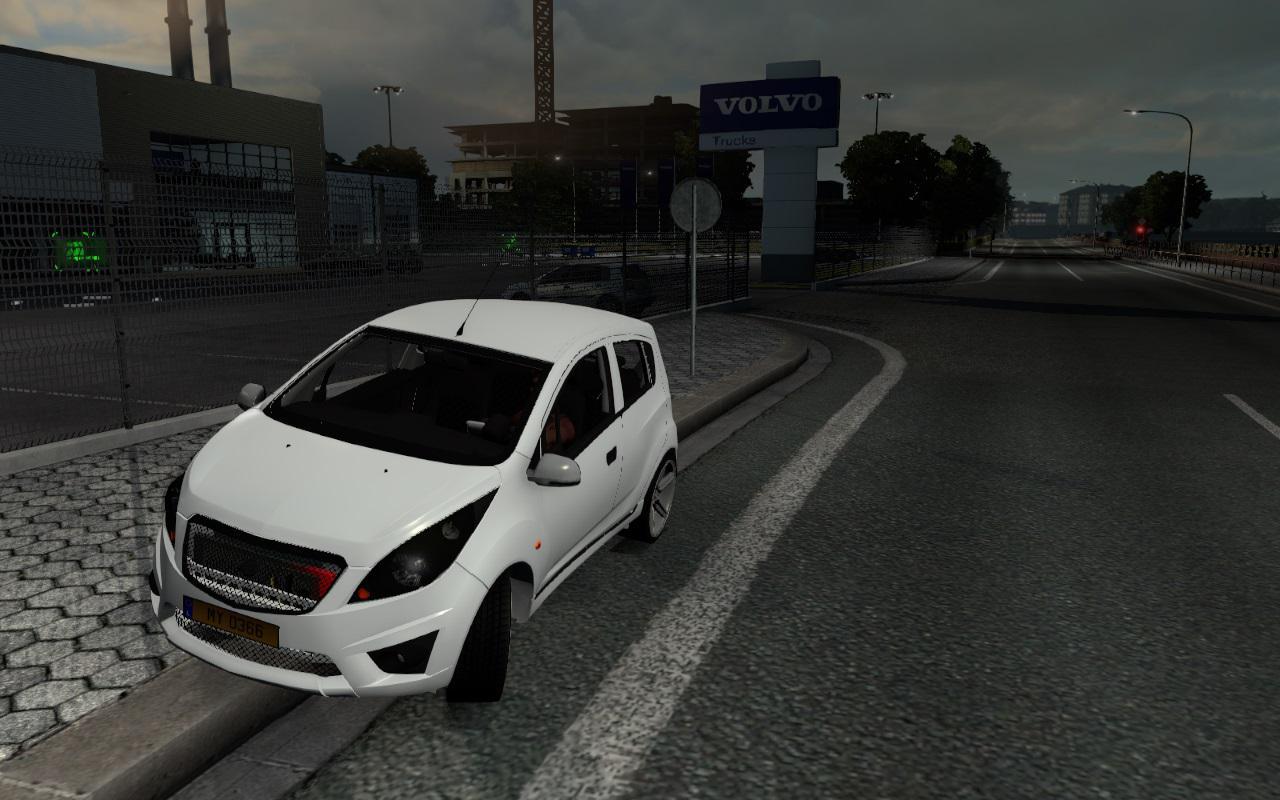 ETS2 - Chevrolet SPARK (Ravon R2) V1.0 (1.38.x)