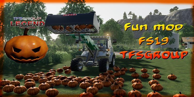 FS19 - Halloween Mod V1.2
