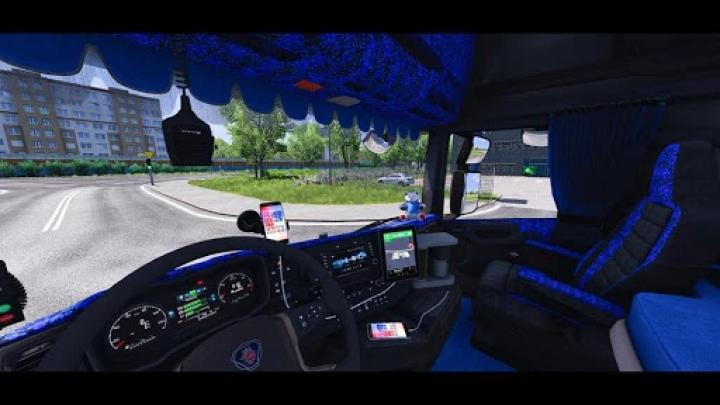 ETS2 - Interior Addons for Scania NextGen (1.41.x)