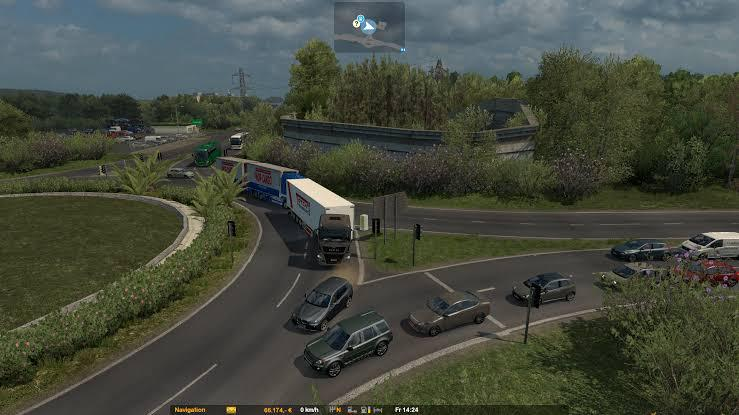ETS2 - Ro Map Rework (1.31 - 1.35)