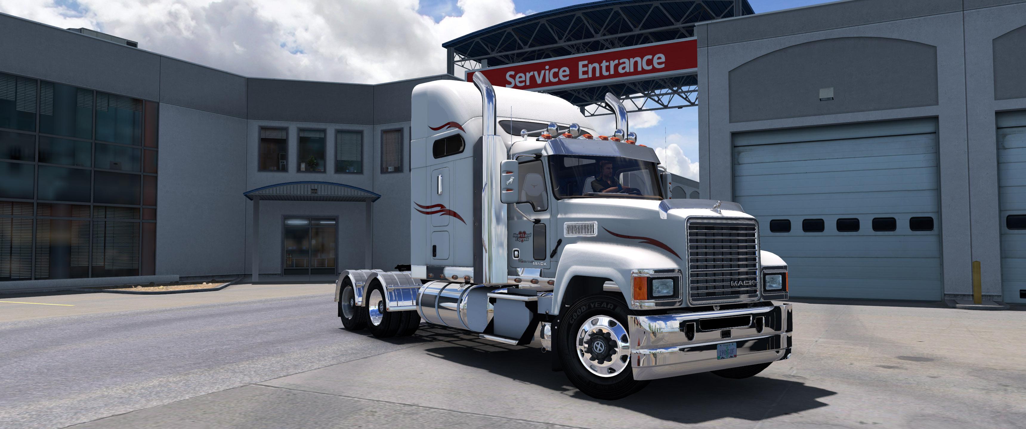 ATS - Mack CHU613 Truck V2.3 (1.37.x)