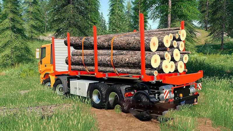 FS19 - Iveco Stralis Clixtar Truck Pack (6 Modules) V19.1.0.5
